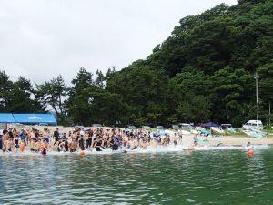 平成29年竹野浜オープンウォータースイミング大会参加者募集中です