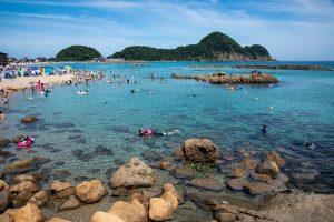 【重要】竹野海岸一帯の海水浴場開設および駐車場入場制限について(お知らせとお願い)