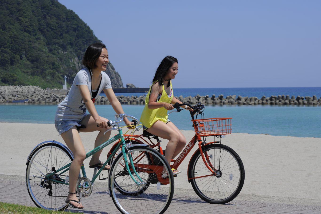 サイクリングで竹野の海を満喫しよう!