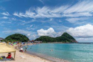 竹野海岸一帯の海水浴場の開設について