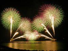 第47回たけの海上花火大会メッセ-ジ花火の打上募集中です