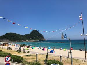 31日の竹野浜の様子です