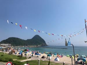 7月15日本日の竹野浜です