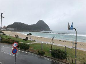 12月8日 土曜日 本日の竹野浜の様子です
